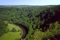 symond yat river wye herefordshire. countryside rural environmental uk limestone cliffs peregrine falcon wooded valley herefordshire england english great britain united kingdom british