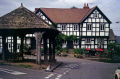 public house town weobley herefordshire. houses tavern bar alchohol british architecture architectural buildings uk tudor elizabethan half-timbered half timbered halftimbered frame mediaeval herefordshire england english great britain united kingdom