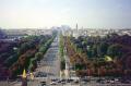view carousel place la concorde paris. french european travel champs elysees fense defense arc triumphe obelisk ob lisque paris parisienne france francia frankreich europe