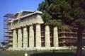 temple hera ii paestum near salerno italy. southern italy italian european travel roman remains campania amalfi coast italien italia italie europe