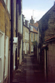 robin hood bay yorkshire north east england northeast english uk captain james cook whitby passageway alley cottage great britain united kingdom british