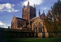hereford cathedral uk cathedrals worship religion christian british architecture architectural buildings herefordshire chain library mappa mundi gothic church england english great britain united kingdom