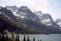 st mary lake glacier national park usa wilderness natural history nature misc. montana rockies mountain np clear transparent united states america american