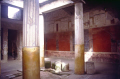 richly decorated house pompeii. archeology archeological science misc. naples napoli campania volcano vesuvius ash pumice pyroclastic flow napolitan italy italien italia italie europe european italian