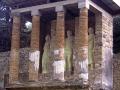 pompeii exedra tomb archeology archeological science misc. aedicule necropolis mausoleum italy naples napoli neopolitan campania vesuvius volcano volcanic pumice ash pyroclastic flow preserved napolitan italien italia italie europe european italian