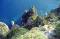 north isle capri looking sea. southern italy italian european travel transparent turquoise pristine sorrento naples italien italia italie europe