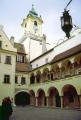 old town hall bratislava slovakia. european travel clock tower baroque renaissance neogothic slovakia republic europe slovak slovakian