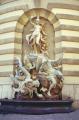 sculpture outside kaiserappartements michaelerplatz vienna. european travel imperial apartments wien austria osterreich vienna vienese österreich europe austrian