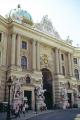 st. michael gate hofburg imperial apartments michaelerplatz vienna. european travel kaiserappartements wien austria habsburg dynasty palace vienna vienese österreich europe austrian