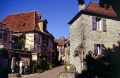 hilltop village loubressac department lot french buildings european travel beaulieu dordogne castelnau midi-pyr midi pyr midipyr es padirac gouffre midi-pyrenees midi pyrenees midipyrenees france la francia frankreich europe