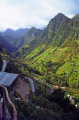 madeira view mountain roads portuguese portugese european travel terrace terracing vines valley portugal island madiera europe