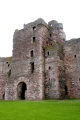 mid tower tantallon castle east lothian scotland. scottish castles british architecture architectural buildings uk north berwick bass rock seacliff edinburgh sandstone oliver cromwell mary queen scots central scotland scotch escocia schottland great britain united kingdom