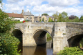 village felton river coquet northumberland uk bridges rivers waterways countryside rural environmental northumbria limestone geordie morpeth bridge arches northumbrian england english great britain united kingdom british