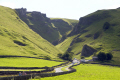 castleton derbyshire. winnats pass speedwell cavern. rural britain countryside rustic pastoral environmental uk peak district national park blue john cavern peveril castle haunted derbyshire england english great united kingdom british