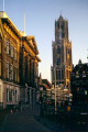 oudegracht dom tower utrecht. dutch netherlands european travel nederlands holland canal promenade singel la hollande holanda olanda europe