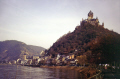 winter sunlight cochem river moselle germany. german deutschland european travel wine grape vineyards rhine castle reisling reichsburg moezel saar-mosel saar mosel saarmosel germany europe germanic