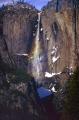 yosemite upper falls. waterfalls cascade cataracts geology geological science misc. valley national park john muir np cataract rainbow california snow winter californian usa united states america american