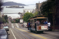 powell market cable car san francisco. francisco california american yankee travel tram marina angel island alcatraz fishermans wharf sf bay embarcadero steve mcqueen bullett franciscan californian usa united states america