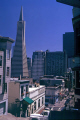 downtown san francisco transamerica pyramid. california american yankee travel sf bay area telegraph hill skyline business commercial district franciscan californian usa united states america
