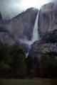 yosemite falls spate. waterfalls cascade cataracts geology geological science misc. california valley john muir merced springtime rainy flood upper lower middle national park np californian usa united states america american