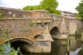 bishops bridge river wensum norwich norfolk england uk bridges rivers waterways countryside rural environmental historic medieval english great britain united kingdom british