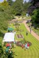 summer garden party historic victorian plantation norwich england lawn flower beds trees london parks capital english uk fete norfolk great britain united kingdom british