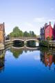 fye bridge river wensum norwich norfolk uk bridges rivers waterways countryside rural environmental england english great britain united kingdom british