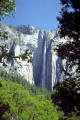 yosemite ribbon falls. 1612ft tallest single waterfall united states waterfalls cascade cataracts geology geological science misc. national park np merced river valley cataract john muir granite california californian usa america american