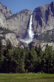 yosemite upper falls spate. waterfalls cascade cataracts geology geological science misc. national park np california merced valley river meadow cataract granite californian usa united states america kingdom british