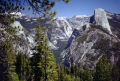yosemite valley half dome glacier point. california american yankee travel national park np merced john muir granite californian usa united states america