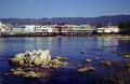 monterey fisherman warf cannery row evening sunlight. california american yankee travel john steinbeck aquarium aquatic bay sea otter seal pier californian usa united states america
