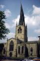 st mary saints church chesterfield. famous crooked spire uk churches worship religion christian british architecture architectural buildings twisted derbyshire timbers steeple chesterfield england english great britain united kingdom
