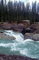 kicking horse river natural arch yoho national park canada waterfalls cascade cataracts geology geological science misc. british columbia lake louise burgess shale banff transparent rock flour turquoise canadian