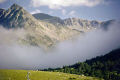 evening cloud andorra french landscapes european weather meteorology grau roig grandvalira pyren es spain france skiing lift valley mountain pyrenees principat andorran