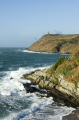 bradda head port erin isle man british beaches coastal coastline shoreline uk environmental manx headland tower folly sea england english great britain united kingdom
