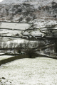 lakeland hill farm light snow ground glenridding ullswater cumbria winter seasons seasonal environmental uk stone walls cumbrian england english great britain united kingdom british