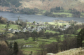glenridding town ullswater lake district. british lakes countryside rural environmental uk village lakeside lakeland fell walking cumbria cumbrian england english great britain united kingdom