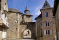 port margot village corrèze french buildings european travel mediaeval medieval walled gate church eglise correze limousin france la francia frankreich europe