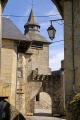 port margot village corrèze department corrèze. french buildings european travel mediaeval medieval walled gate church eglise correze limousin france la francia frankreich europe