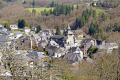 village corrèze surrounding countryside. limousin france french buildings european travel correze mediaeval medieval millevaches monédières monedieres la francia frankreich europe