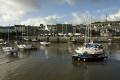 yachts port st mary harbour south coast isle man low tide yachting sailing sailboats boats marine misc. fishing sea manx iom tourist england english great britain united kingdom british