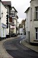 sedburgh town looking main street. book north bookshops. historical uk buildings history british architecture architectural shops pub houses traditional old yorkshire england english great britain united kingdom