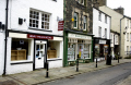 sedburgh town bookshop. book north bookshops. uk shops commercial buildings retailers british architecture architectural traditional old books street yorkshire england english great britain united kingdom