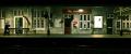 bath spa station uk railway stations railways railroads transport transportation avon nightview england wiltshire wilts english great britain united kingdom british