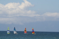 sail boats captured cape town south africa beach called fish hoek. corner yachts yachting sailing sailboats marine misc. yaght wind sea afrikaans african