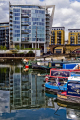 canal boats docks marine misc. business commerce apartments housing houses dock yachts sailing limehouse basin flats buildings tower hamlets london cockney england english great britain united kingdom british