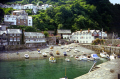 clovelly devon taken harbour wall. harbor uk coastline coastal environmental fishing pleasure boat haven port quayside sea wall beach devonian england english great britain united kingdom british