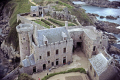 fort la latte brittany france. taken roof main tower. french buildings european travel castle fortified crenellated cap fréhel frehel st malo mediaeval atlantic bretagne france francia frankreich europe