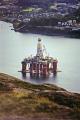 oil exploration platform parked fjord near stavanger industry industrial uk business commerce rig derrick anchored norge engineering petroleum crude norway kongeriket norwegan