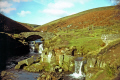 shires head derbyshire cheshire staffordshire meet. moorland countryside rural environmental uk pannier pool peak district park dry stone wall winter hiking rambling walking england english great britain united kingdom british